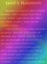 image result for christian poems about rainbows rainbow quote