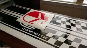 Chevrolet Corvette C4 Sport Front Hood Racing Stripes Decal Pre Cut 1984 2012 For Sale Online