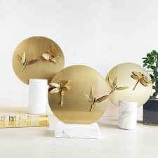 Luxury Golden Metal Primitive Home Decor Marble Brass Decoration Pieces Buy Marble Brass Decoration Pieces Primitive Home Decor Luxury Golden Metal Product On Alibaba Com