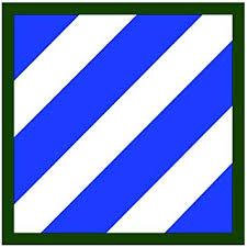Amazon Com Js Artworks 3rd Infantry Division Patch Us Army Vinyl Sticker Decal Automotive