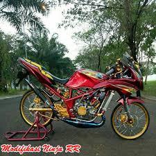 Gambar Sepeda Motor Ninja Modifikasi