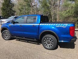 2019 Ford Ranger Stripe Decals 2019 2020 Uproar Side Kit