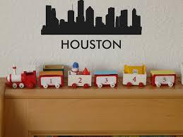 Houston Usa Fusion Decals