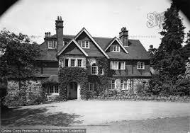 Photo of Crowborough, Ivy Hall c.1955 - Francis Frith