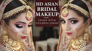 how to put bridal makeup step by step
