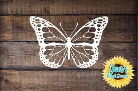 Butterfly Car Window Decal Monarch Butterfly Car Decals Etsy