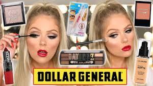 full face of dollar makeup