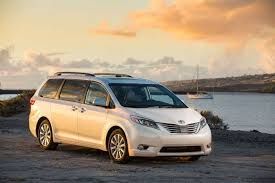 car and driver names 2016 toyota sienna
