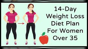 Effective 14-Day Weight Loss Diet Plan For Women Over 35