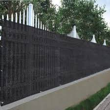 Globe House Products Ghp8874 Ghp Outdoor 90 Privacy Black Mesh Fabric Fence Screen 25x4 Shade Cover