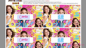 Kit Imprimible Editable Completo Gold Soy Luna Inteligente Youtube