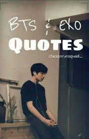 bts exo quotes lay wattpad