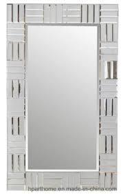 china modern style 4mm silver glass