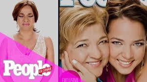 Adamari Lopez no pudo contener sus lágrimas al recordar portada con su mamá  | People En Español - YouTube