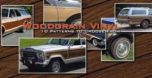 Car Stripes Truck Stripes Graphic Kits Wood Grain Vinyl