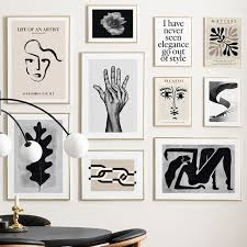 Hot Discount 344d Matisse Picasso Abstract Wall Art Print Canvas Painting Vintage Nordic Poster Modern Gallery Wall Pictures For Living Room Decor Cicig Co