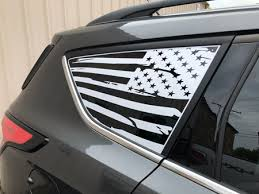 American Flag Side Window Decal For 2013 Current Ford Escape