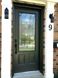front door glass panels replacement
