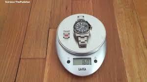 how much a 2017 rolex submariner weigh