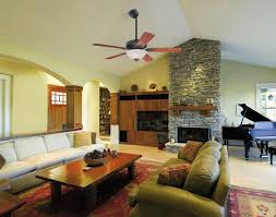 cathedral ceiling fan mount placement
