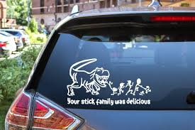 Dinosaur Your Stick Family Was Delicious Total Chaos Designs