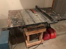 Craftsman Table Saw Fence Upgrade