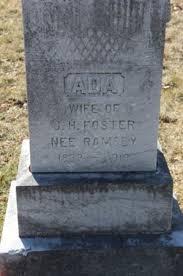 Ada Ramsey Foster (1883-1919) - Find A Grave Memorial