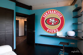 Vsgraphics Llc 49ers Stickers 49ers Decals San Francisco 49ers Decal 49ers Home Decor 49ers Car Sticker Nfl San Francisco 49ers Sticker 49ers Stickers 49ers Wall Decal Bm21 22 X 22
