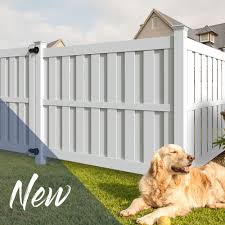 Hampton 6x6 Vinyl Privacy Fence Kit Vinyl Fence Freedom Outdoor Living For Lowes In 2020 Vinyl Fence Landscaping Vinyl Privacy Fence Vinyl Fence