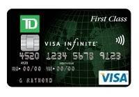 td first clsm visa signature credit