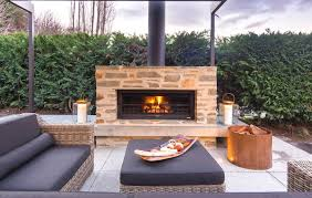 outdoor fireplace can increase your revenue