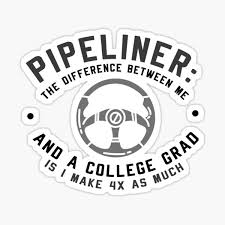 Pipeliner Stickers Redbubble