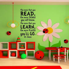 Love It Great For The Classroom Library From Etsy Art Wall Kids Nursery Room Decal Dr Seuss Wall Decals