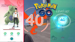 I FINALLY HIT LEVEL 40 IN POKEMON GO! POKEMON GO LEVEL 40 CLUB ...