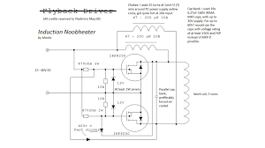 schematic homemade induction heater