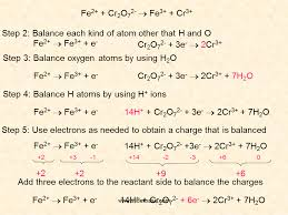 cr3 chromium gains three electrons