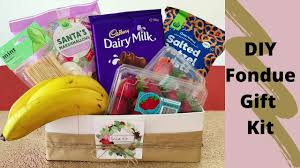 diy fondue kit gift pack be a fun mum