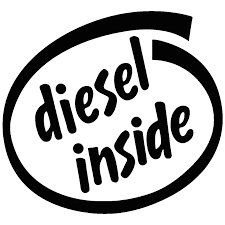 Car Sticker Vinyl 3d Diesel Inside Stickers And Decals Vinyl Funny Sticker On Car Decal Black Silver Laser Car Styling 15 13 3cm Car Stickers Aliexpress