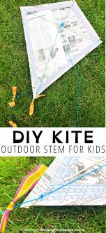 how to make a kite little bins for