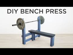 diy bench press how to make a weight