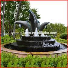 tengyun carving garden stone dolphin