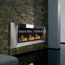 wall mount bio ethanol fuel real flame