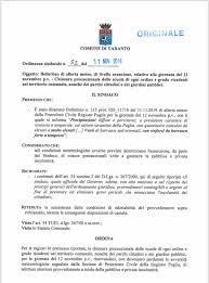 MALTEMPO, DOMANI SCUOLE CHIUSE A TARANTO – Lo Jonio