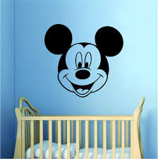 Mickey Mouse Wall Decal Home Decor Bedroom Room Vinyl Sticker Art Baby Boop Decals