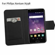 Philips Xenium X598 Case Phone Leather ...