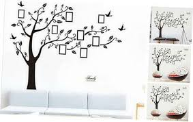 Bobrvladikotbobra Large Family Tree Wall Decal Peel Stick Vinyl Sheet Easy T Decals Stickers Viny In 2020 Family Tree Wall Family Tree Wall Decal Tree Wall Decor