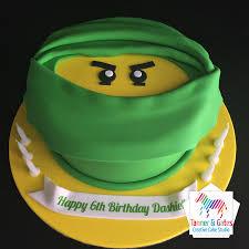 Lego Ninjago Face Birthday Cake – Tanner & Gates