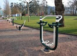 outdoor exercise equipment for recreation