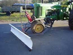 homemade snow plow tractorshed