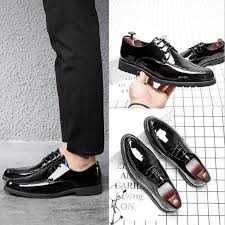 formal shoes patent leather